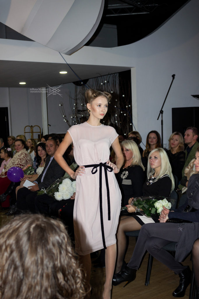 Private fashion show in Zaporizhia