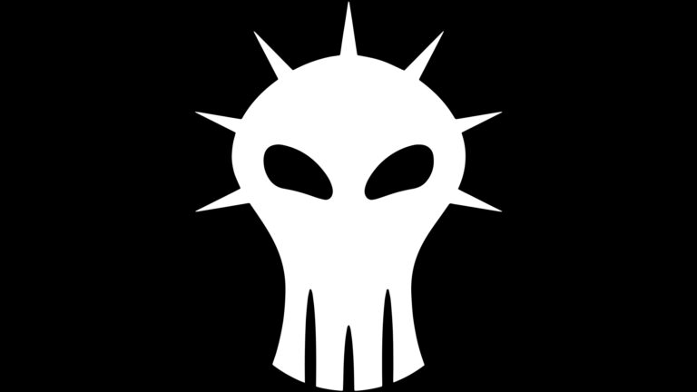 White hacker logo