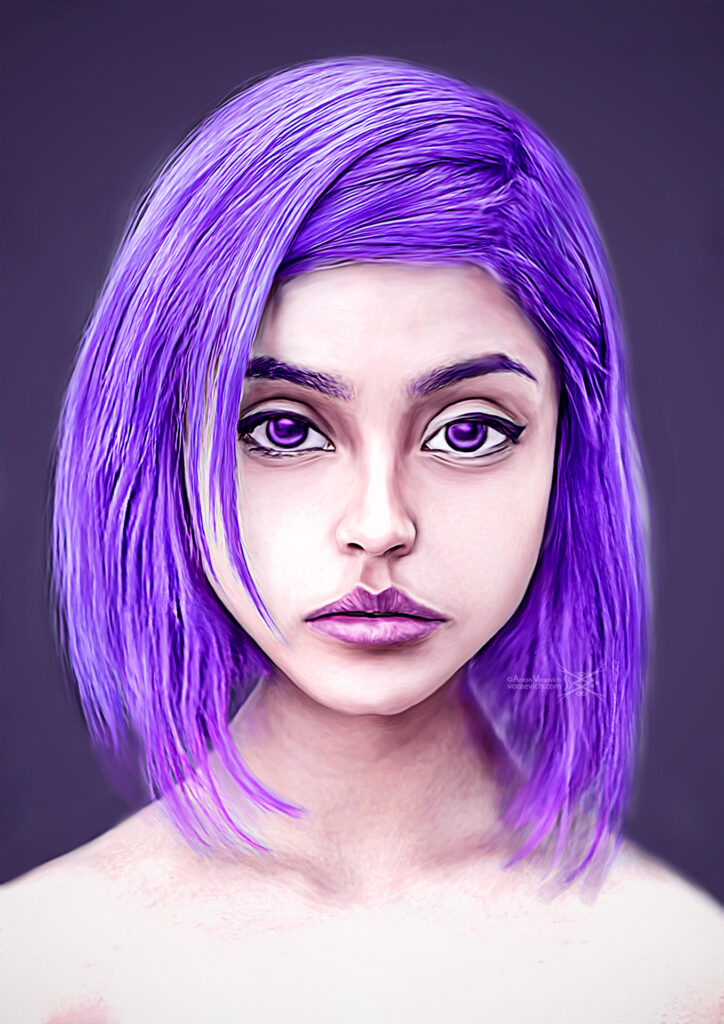 Purple cutie